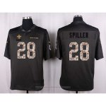 Camiseta New Orleans Saints Spiller Apagado Gris Nike Anthracite Salute To Service NFL Hombre