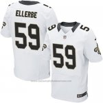 Camiseta New Orleans Saints Ellerbe Blanco Nike Elite NFL Hombre