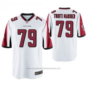 Camiseta NFL Game Atlanta Falcons Jacob Tuioti Mariner Blanco