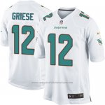 Camiseta Miami Dolphins Griese Blanco Nike Game NFL Hombre