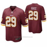 Camiseta NFL Game Washington Redskins Derrius Guice Burgundy