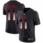 Camiseta NFL Limited Atlanta Falcons Jones Smoke Fashion Negro