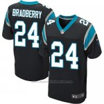 Camiseta Carolina Panthers Bradberry Negro Nike Elite NFL Hombre