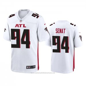 Camiseta NFL Game Atlanta Falcons Deadrin Senat 2020 Blanco