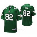 Camiseta NFL Philadelphia Eagles Mike Quick Kelly Verde Pro Line