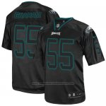 Camiseta NFL Elite Hombre Philadelphia Eagles 55 Brandon Graham Negro