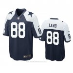 Camiseta NFL Game Dallas Cowboys Ceedee Lamb Alterno Azul