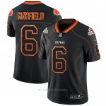 Camiseta NFL Limited Cleveland Browns Mayfield Lights Out Negro
