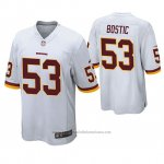 Camiseta NFL Game Washington Rojoskins Jon Bostic Blanco