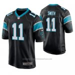 Camiseta NFL Game Carolina Panthers Torrey Smith Negro