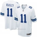 Camiseta Dallas Cowboys Beasley Blanco Nike Game NFL Nino