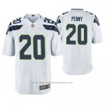 Camiseta NFL Game Seattle Seahawks Rashaad Penny Blanco