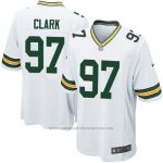 Camiseta Green Bay Packers Clark Blanco Nike Game NFL Nino