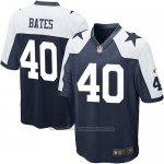 Camiseta Dallas Cowboys Bates Negro Blanco Nike Game NFL Nino