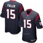 Camiseta Houston Texans Fuller Negro Nike Game NFL Nino