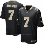Camiseta New Orleans Saints Andersen Negro Nike Game NFL Hombre