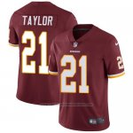 Camiseta NFL Limited Hombre Washington Redskins 21 Sean Taylor Burgundy Rojo Stitched Vapor Untouchable