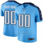 Camisetas NFL Limited Hombre Tennessee Titans Personalizada Azul