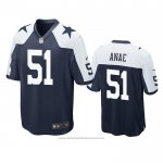 Camiseta NFL Game Dallas Cowboys Bradlee Anae Alterno Azul