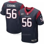 Camiseta Houston Texans Cushing Profundo Azul Nike Elite NFL Hombre