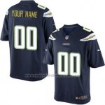 Camisetas NFL Limited Los Angeles Chargers Personalizada Azul