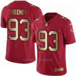 Camiseta Atlanta Falcons Freeney Rojo Nike Gold Legend NFL Hombre