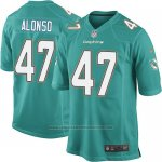 Camiseta Miami Dolphins Alonso Verde Nike Game NFL Hombre