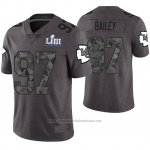 Camiseta NFL Limited Hombre Kansas City Chiefs Allen Bailey Gris Super Bowl LIII