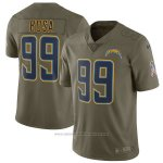 Camiseta NFL Limited Nino Los Angeles Chargers 99 Bosa 2017 Salute To Service Verde