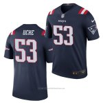 Camiseta NFL Gold Legend New England Patriots Josh Uche 2020 Azul Color Rush