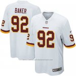 Camiseta Washington Redskins Baker Blanco Nike Game NFL Nino