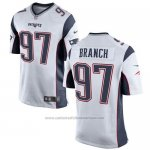 Camiseta New England Patriots Branch Blanco Nike Game NFL Hombre
