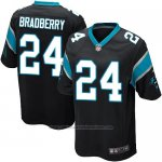 Camiseta Carolina Panthers Bradberry Negro Nike Game NFL Nino