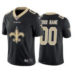 Camiseta NFL Limited New Orleans Saints Personalizada Big Logo Negro
