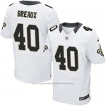 Camiseta New Orleans Saints Breaux Blanco Nike Elite NFL Hombre