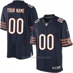 Camisetas NFL Limited Hombre Chicago Bears Personalizada Azul