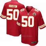 Camiseta Kansas City Chiefs Houston Rojo Nike Game NFL Nino