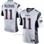 Camiseta New England Patriots Bledsoe Blanco Nike Game NFL Hombre
