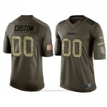 Camiseta NFL Limited Green Bay Packers Personalizada Salute To Service Verde2