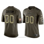 Camiseta NFL Limited Dallas Cowboys Personalizada Salute To Service Verde2