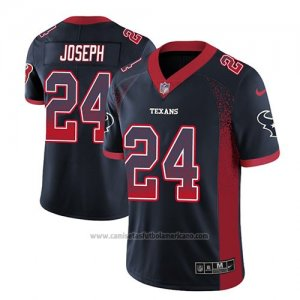 Camiseta NFL Limited Houston Texans Johnathan Joseph Azul 2018 Drift Fashion Color Rush