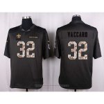 Camiseta New Orleans Saints Vaccaro Apagado Gris Nike Anthracite Salute To Service NFL Hombre