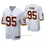 Camiseta NFL Game Washington Redskins Daron Payne Blanco
