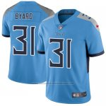 Camiseta NFL Limited Hombre Tennessee Titans 31 Kevin Byard Azul Stitched Vapor Untouchable