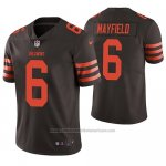 Camiseta NFL Limited Cleveland Browns Baker Mayfield Marron Vapor Untouchable