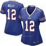 Camiseta Buffalo Bills Kelly Azul Nike Game NFL Mujer