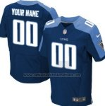 Camisetas NFL Limited Hombre Tennessee Titans Personalizada Azul2
