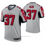 Camiseta NFL Legend Atlanta Falcons 37 Ricardo Allen Inverted Gris