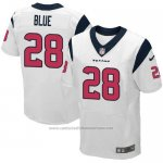 Camiseta Houston Texans Blue Blanco Nike Elite NFL Hombre