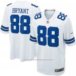 Camiseta Dallas Cowboys Bryant Blanco Nike Game NFL Nino
